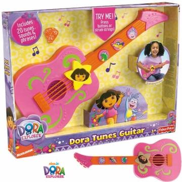 Dora Plays Guitar