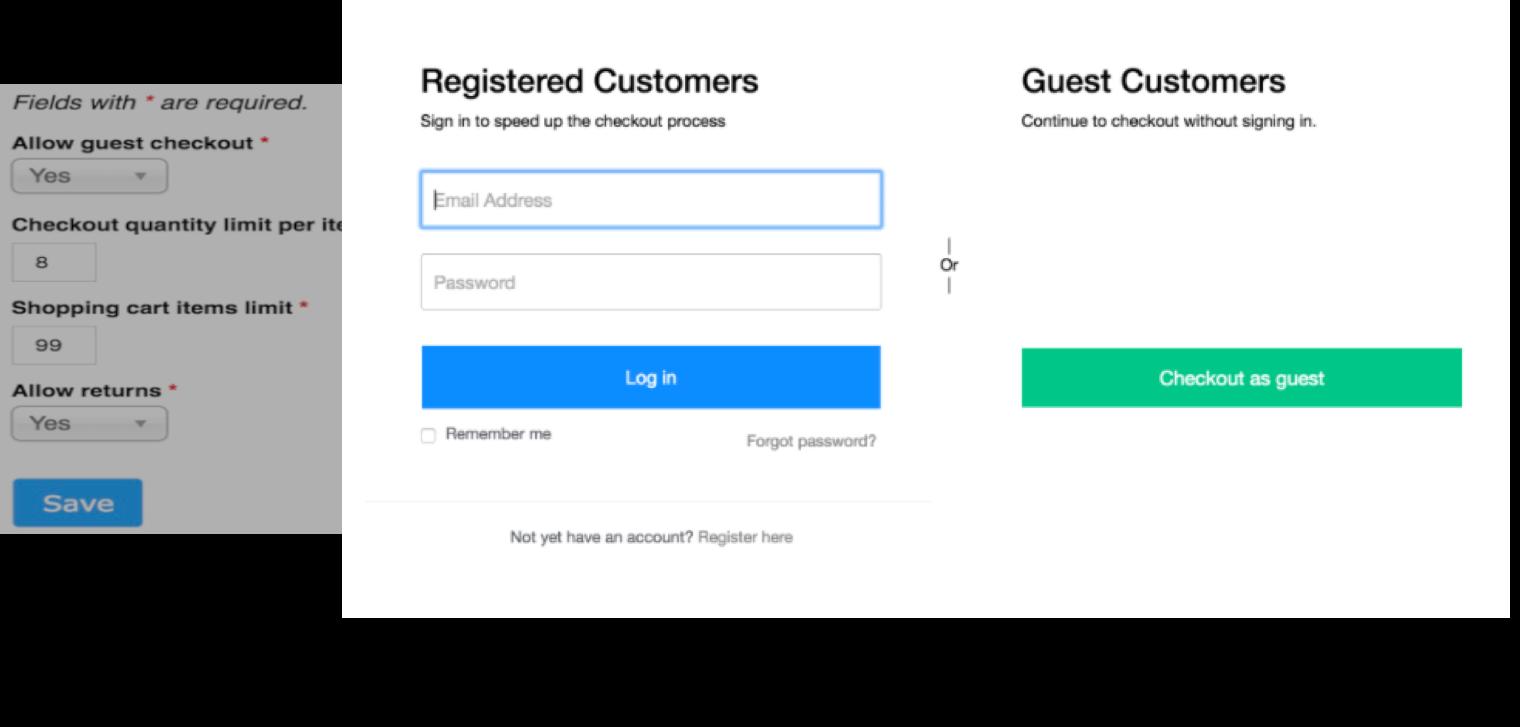 Checkout Configuration